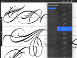 Unlimited Lettering Tattoo // Brushset Pack