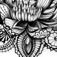 Lotus Mandala Tattoo Design