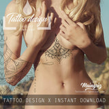 Underboob & Sideboob - Tattoo eBook
