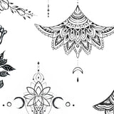 Mandala under boob and side boob tattoo designs high resolution download