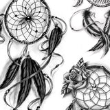 5 originals dreamcatchers download tattoo design
