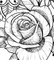 selection of thousands sexy oriental roses tattoo designs created by artist