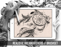 Realistic Dreamcatchers Set  Brushes for Procreate