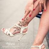 sexy foot tattoo design references high resolution download