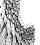 Wing tattoo design high resolution download