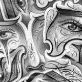 chicano eyes for sleeve tattoo design digital pack by tattoodesignstock.com