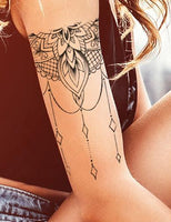 half sleeve mandala tattoo design digital donload