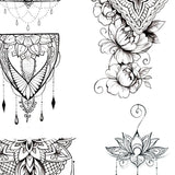 6 amazing mandalas download tattoo design digital download