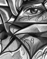 rose illuminati tattoo design digital download by tattoo artists