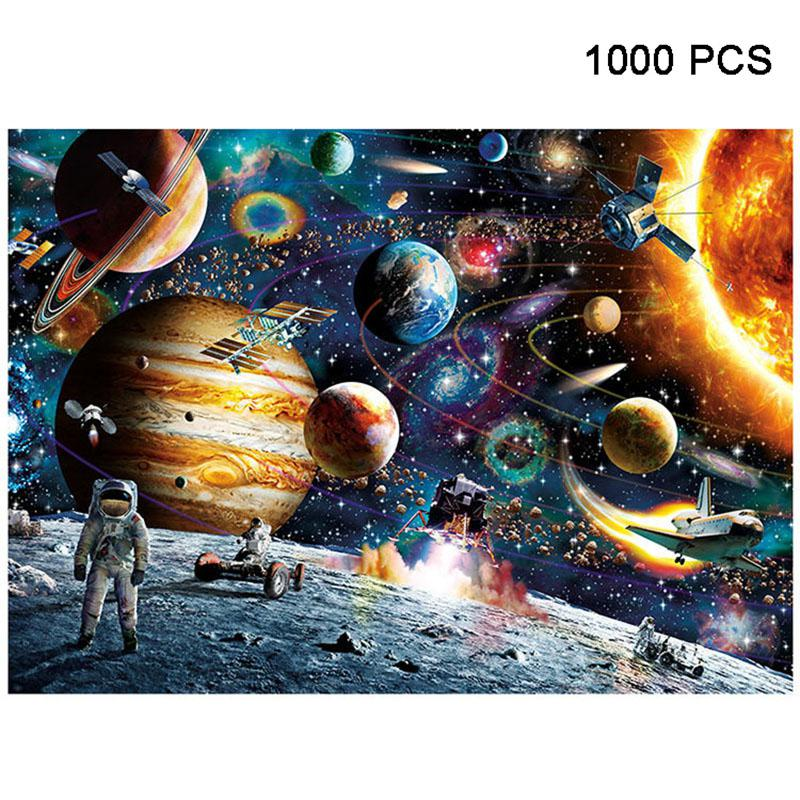 Astronaut in Space Jigsaw Puzzle 1000 pieces
