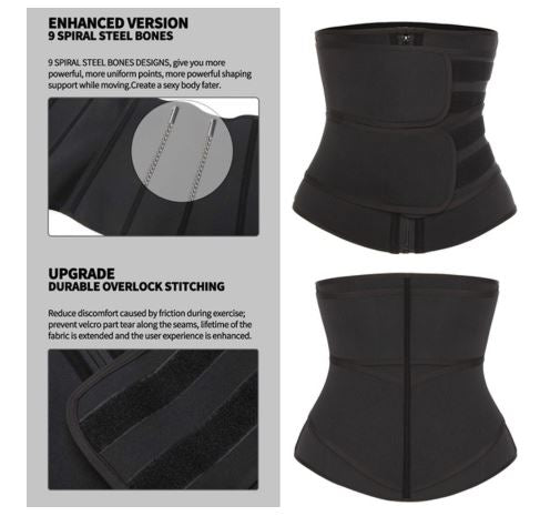 Neoprene Sweat Waist Trainer Corset