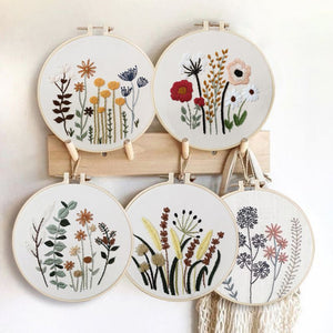 Floret Garden Embroidery Kit