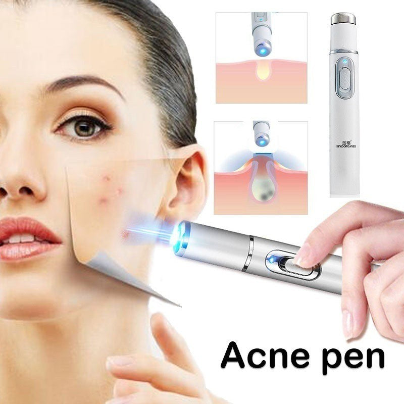 Blue Light Therapy Acne Laser Pen