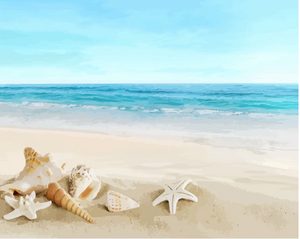 Painting by Numbers Kit - Beach Mood
