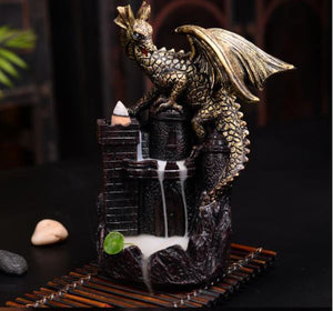 Dragon Castle Incense Burner