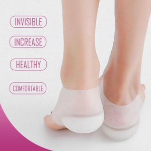 Invisible Pad Sock Heel