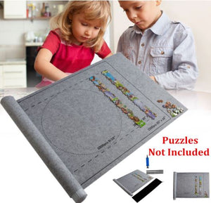 Portable Puzzle Rollup Mat