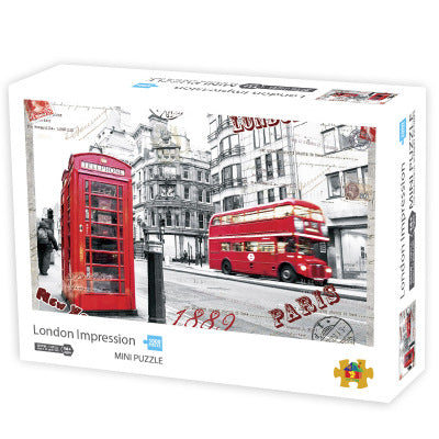 London Jigsaw puzzle 1000 pieces for Adults
