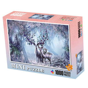 Elk Fantasy Jigsaw Puzzle 1000 pieces