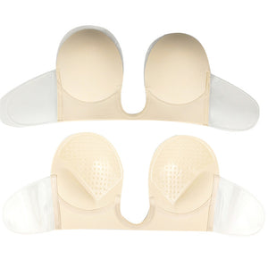 Adhesive and Invisible Push Up Strapless Bra