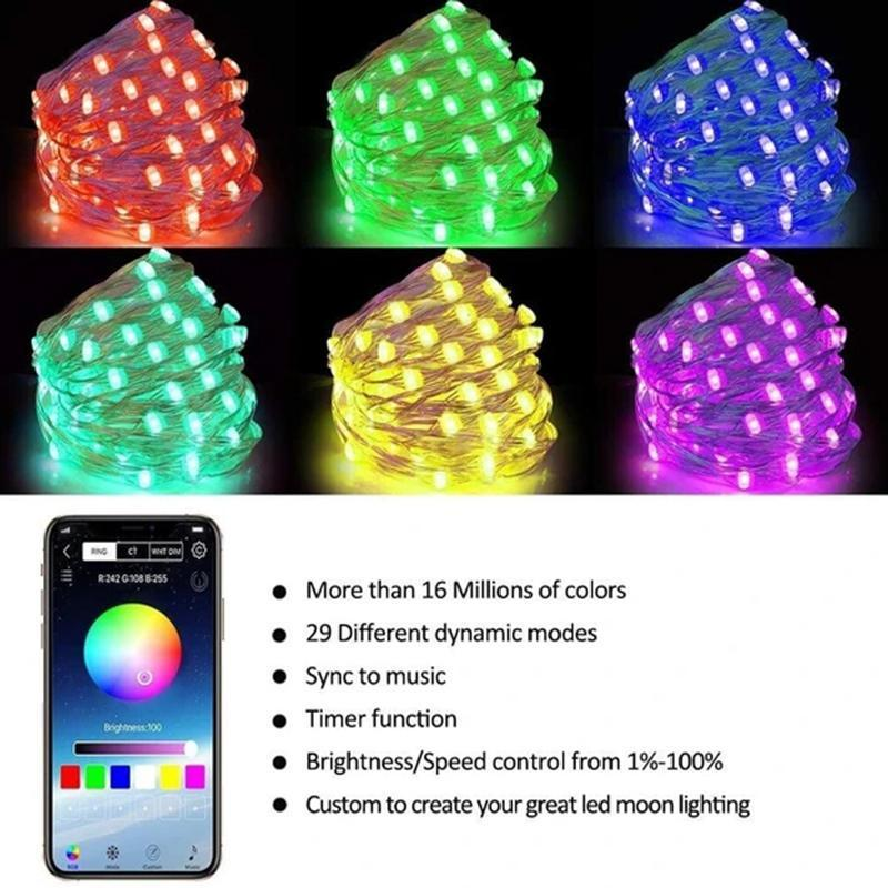 Custom Lights - Smart LED Christmas Lights