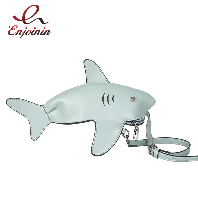 Cute Shark Crossbody Bag