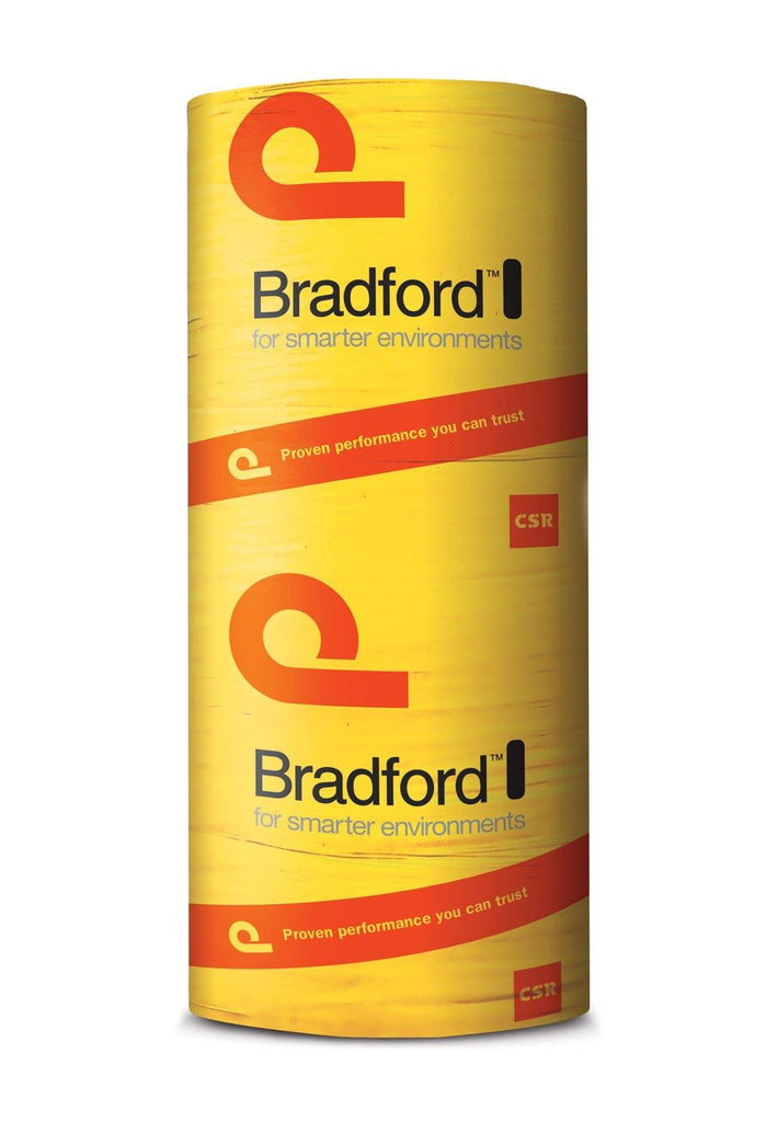 Bradford Anticon Roofing Insulation Blanket Heavy Duty 100mm - R2.3 - 10m x 1200mm - 12m²/roll - Insulfix