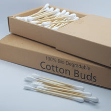 Load image into Gallery viewer, Bamboo cotton buds
