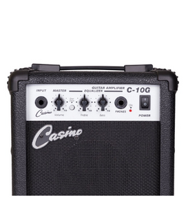 Casino ST-Style Electric Guitar and Amp Pack - Sunburst