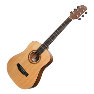 Martinez Natural Series Acoustic Electric Traveller Guitar