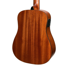 Load image into Gallery viewer, Martinez Natural Series Acoustic Electric Traveller Guitar