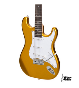 Casino ST-Style Electric Guitar and Amp Pack - Gold