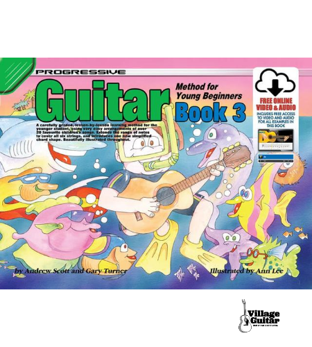 Progressive Guitar Method for Young Beginners - Book 3