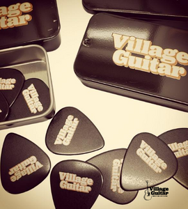 Village Guitar Pick Tins