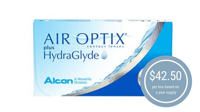 AIR OPTIX® plus HydraGlyde ®