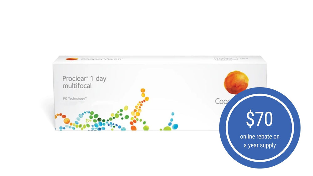 Proclear® 1 day multifocal