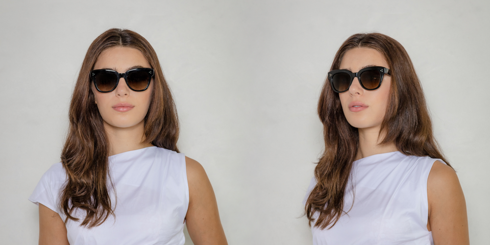 Sophia with Non-Prescription Polarized Lenses