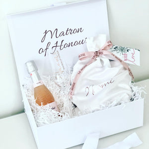 Hamper Box-Medium White
