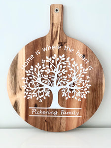 Timber Paddle Board- Round