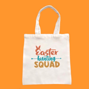 Easter Hunting Squad Tote Bag