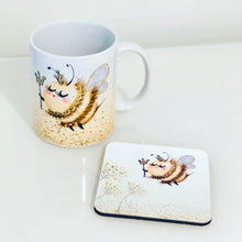 Load image into Gallery viewer, Mug & Coaster Set- Queen Bee
