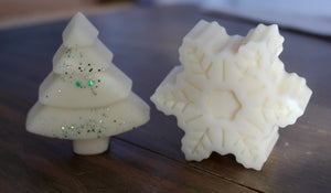 Large Soy Wax Snow Fairy Snowflake