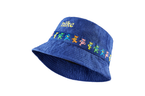 Earth Logo Emb. Twill 6 Panel  - Garment Dyed Royal