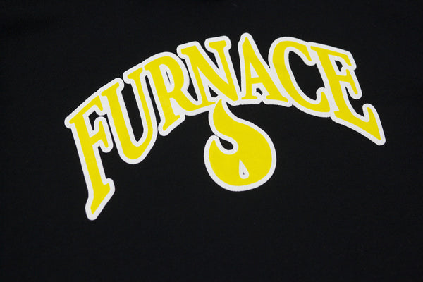 Furnace OG Hoodie - Black/Yellow/White