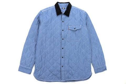 Quilted Mason Shirt Jacket