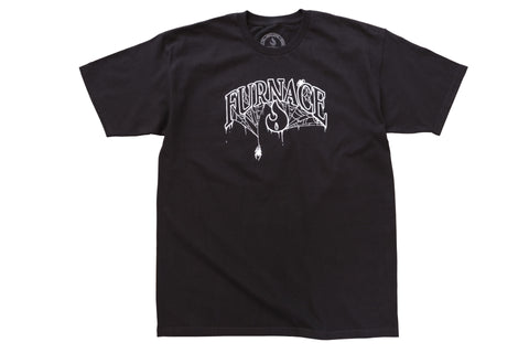 Wordmark Tee- Black/Grape