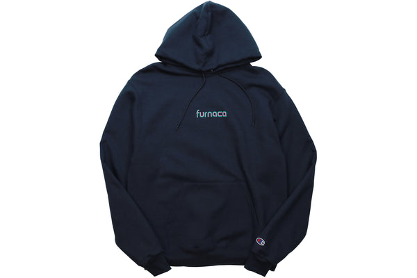Nuevo Two-Tone Hood (Champion)- Navy/Pink/Teal