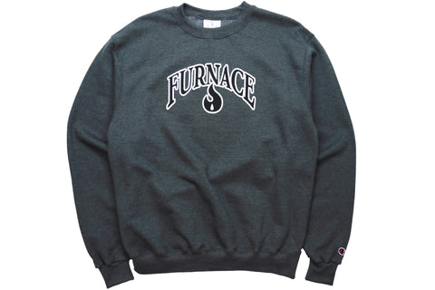 Furnace OG Crew (Champion)- Black/White
