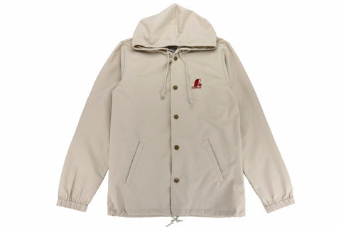 Jazz Hooded Embroidered Windbreaker