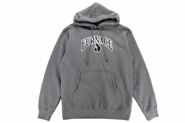 Furnace OG Hoodie - Gunmetal Heather/Black/White